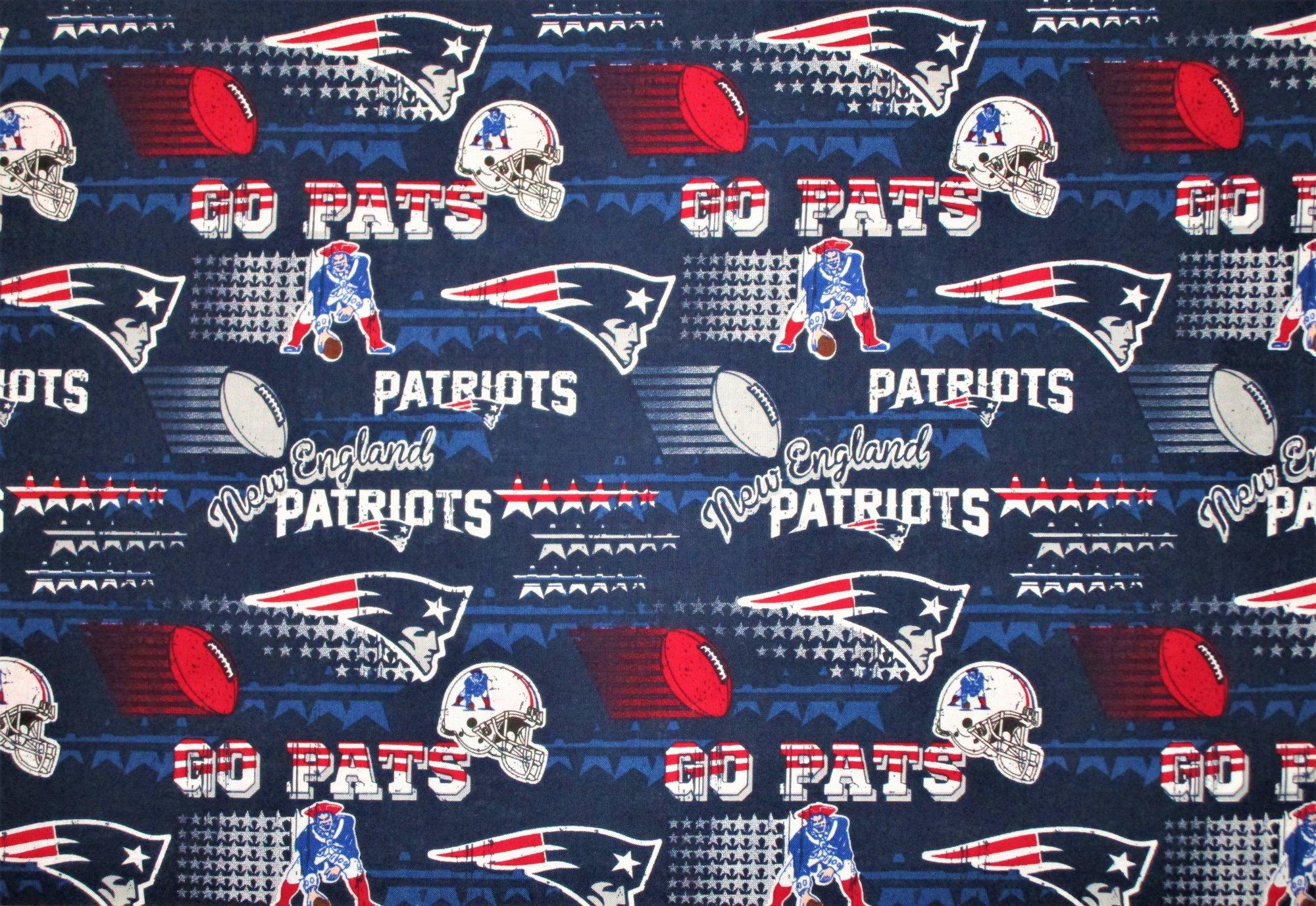 NFL Logo New England Patriots 14447 Footballs