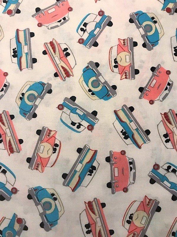 Going Steady 43281-4 Cars on Cream