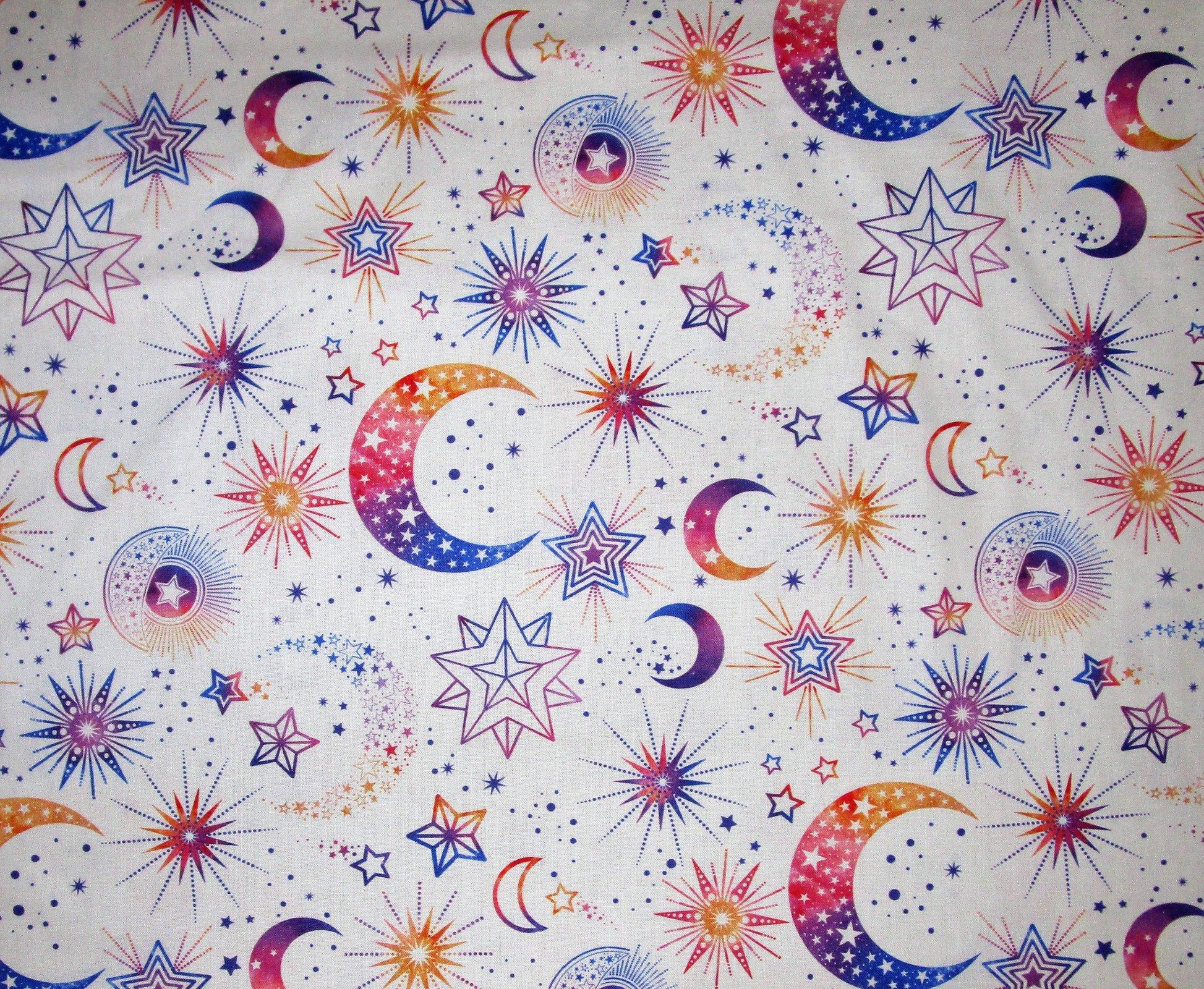 Cosmic Universe 22718-87 White/Purple/Orange Moons