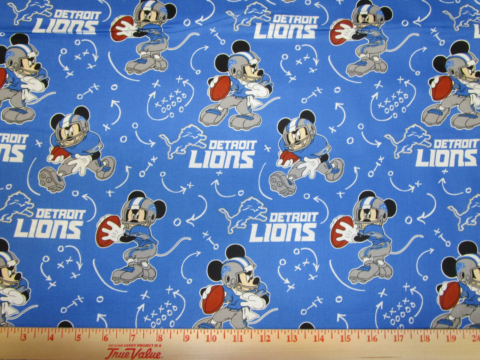NFL Detroit Lions 70196 Mickey Mouse