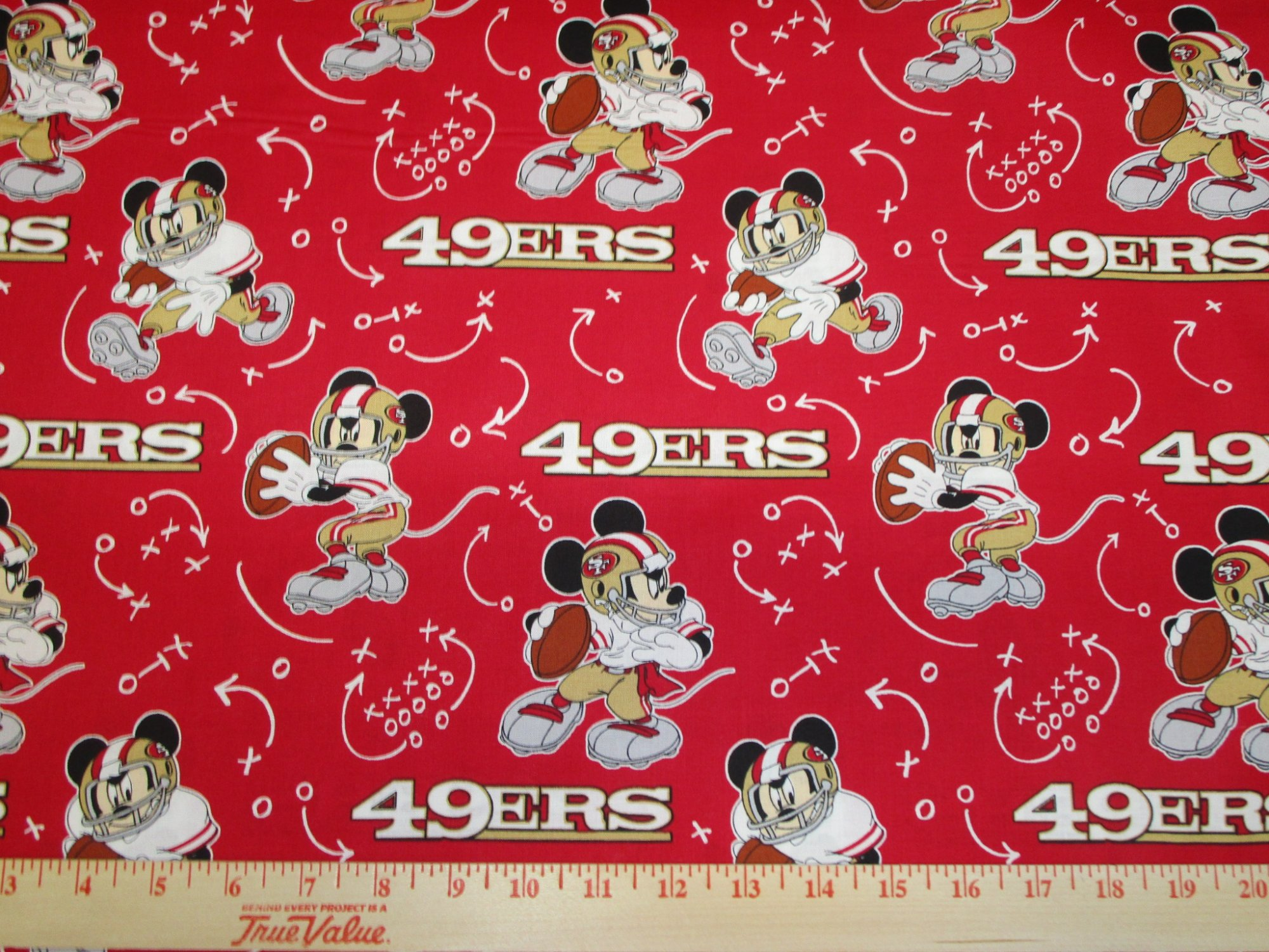 NFL San Francisco 49ers 70203 Mickey