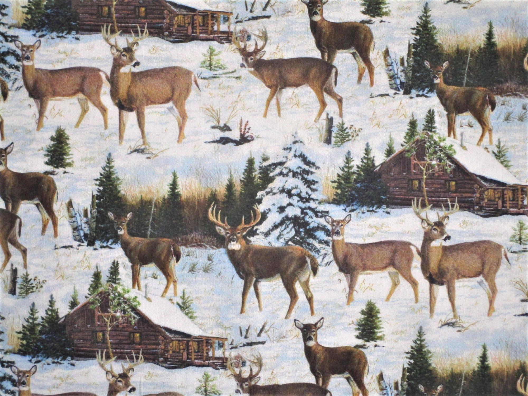 Pine Valley Deer DP-22857-10 Scenic