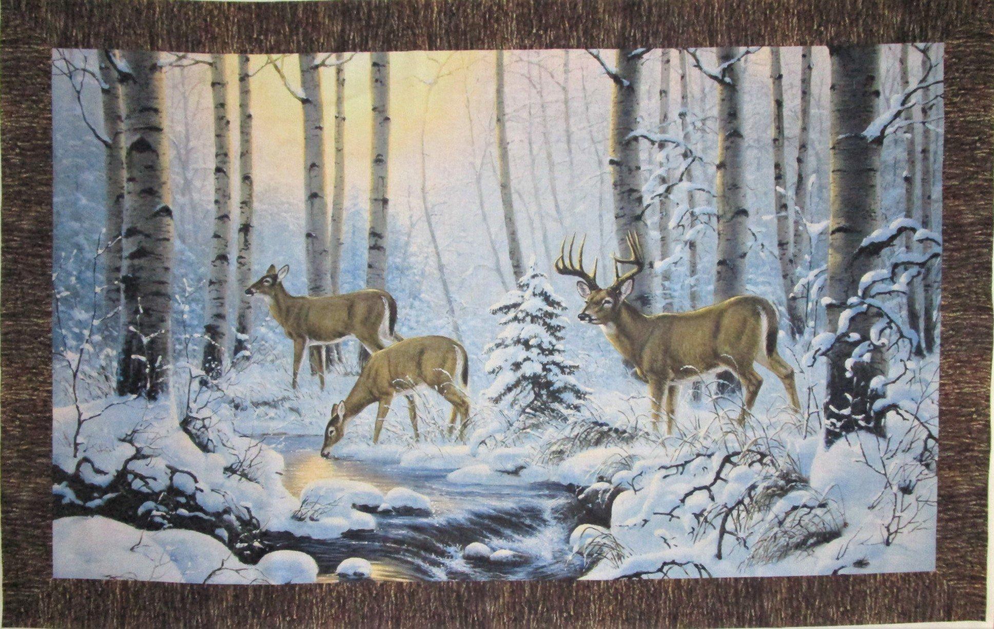 Pine Valley Deer DP-22854-10 Panel