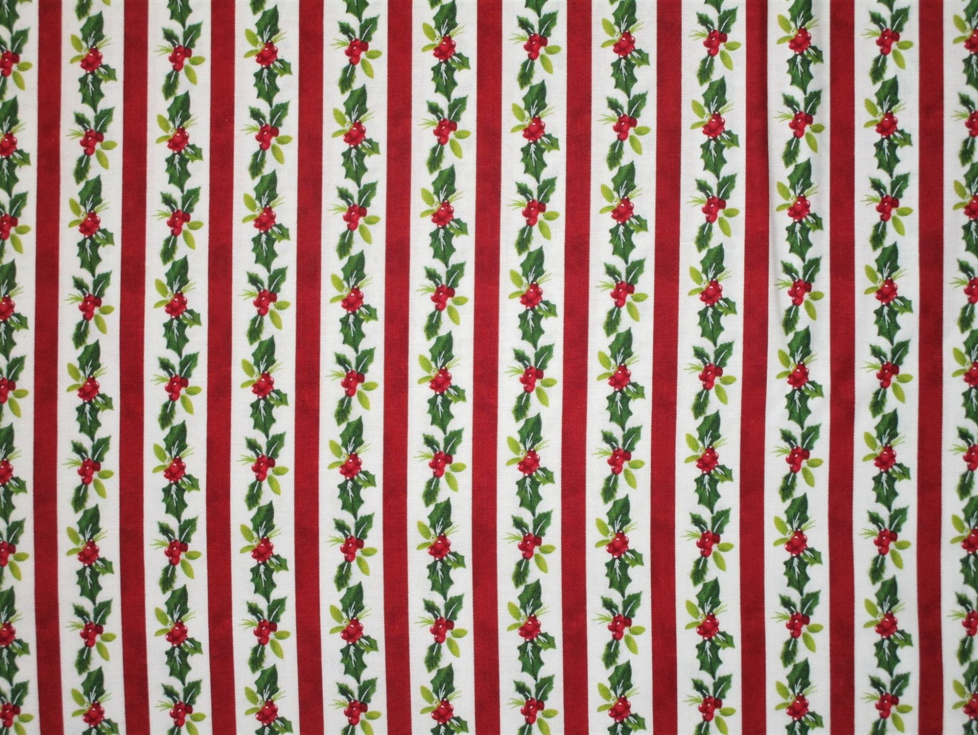 Christmas Delivery 22874 Holly Stripe