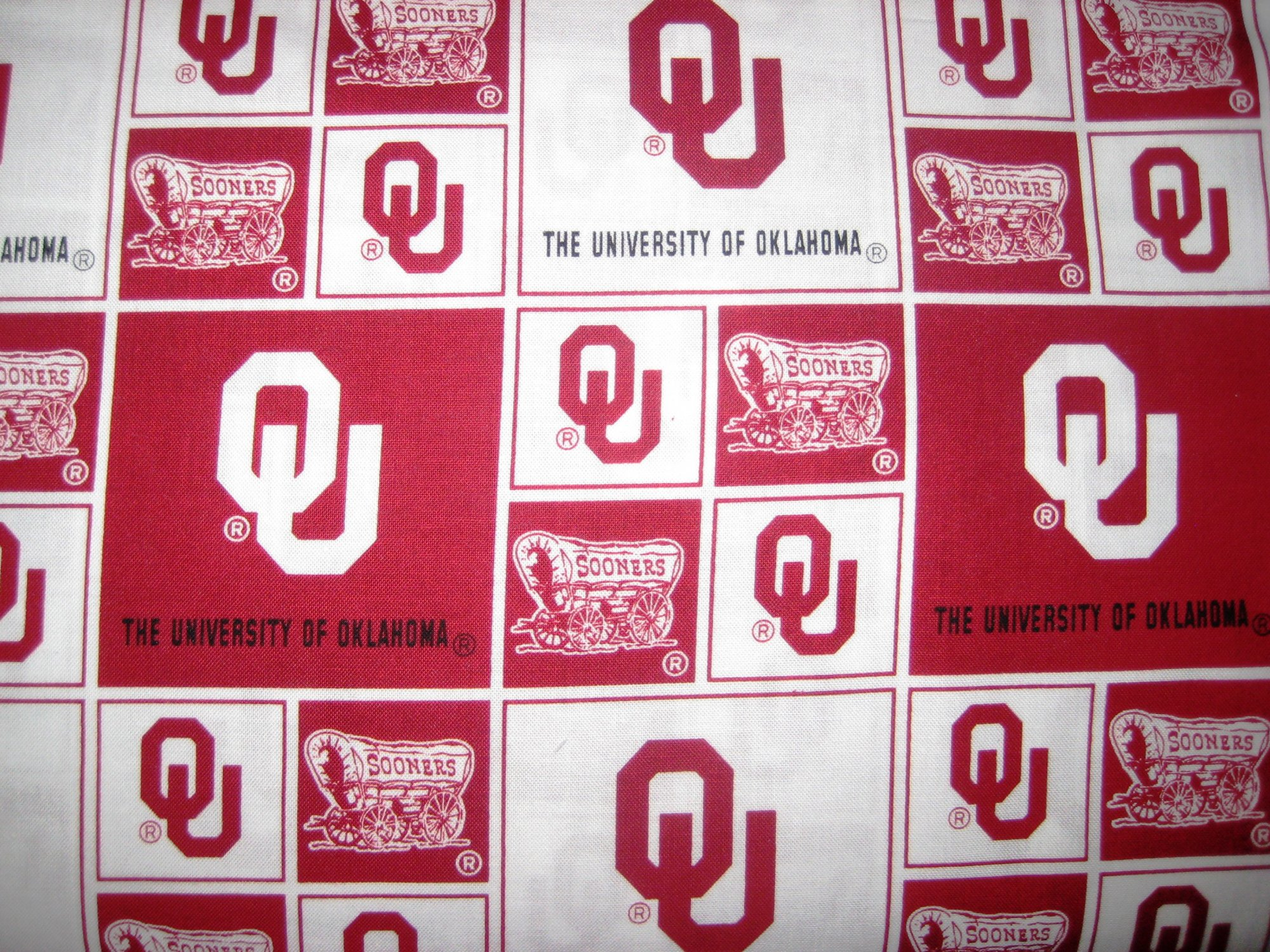 NCAA Oklahoma Sooners Crimson & Cream - 8 Options