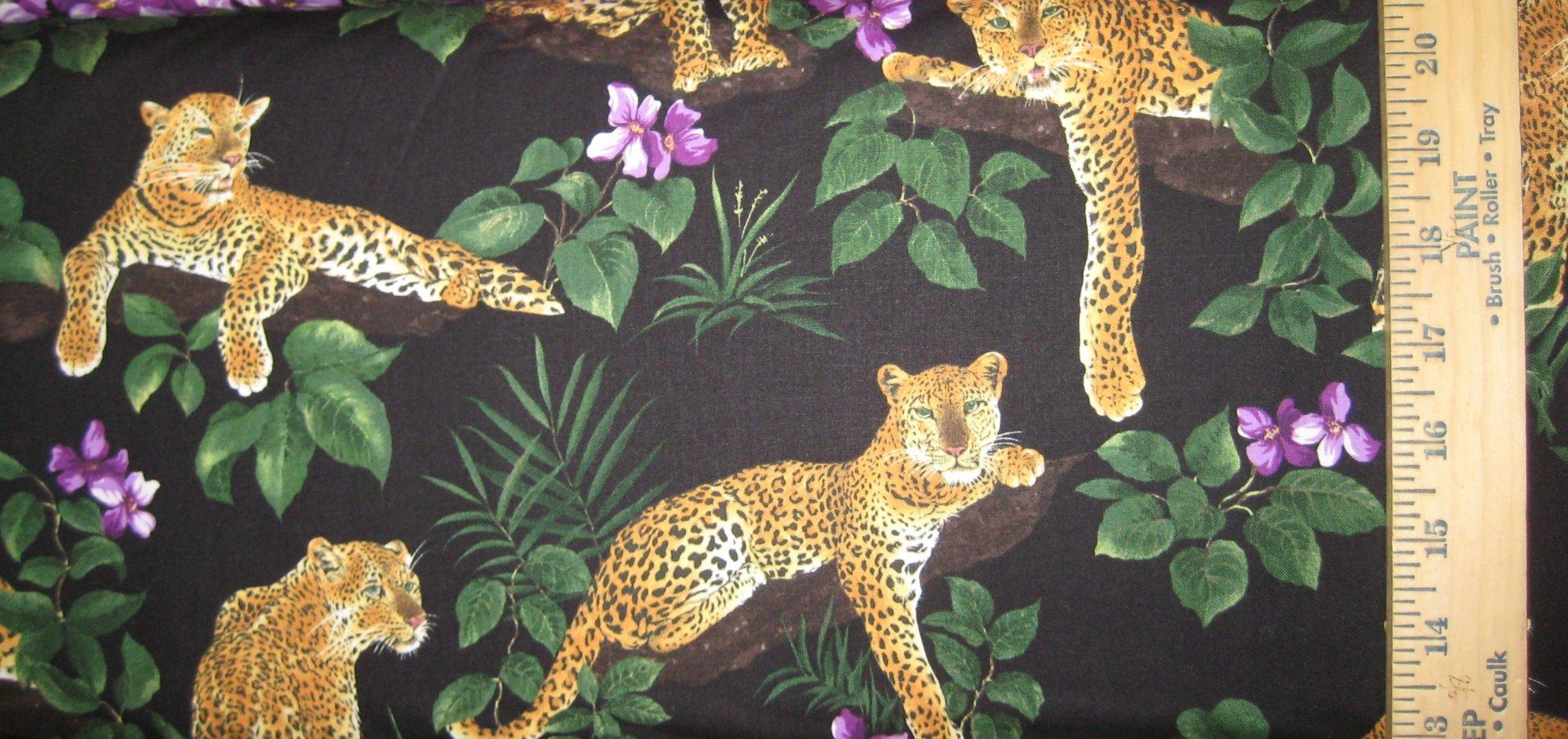 Leopard Cats 8588 Black