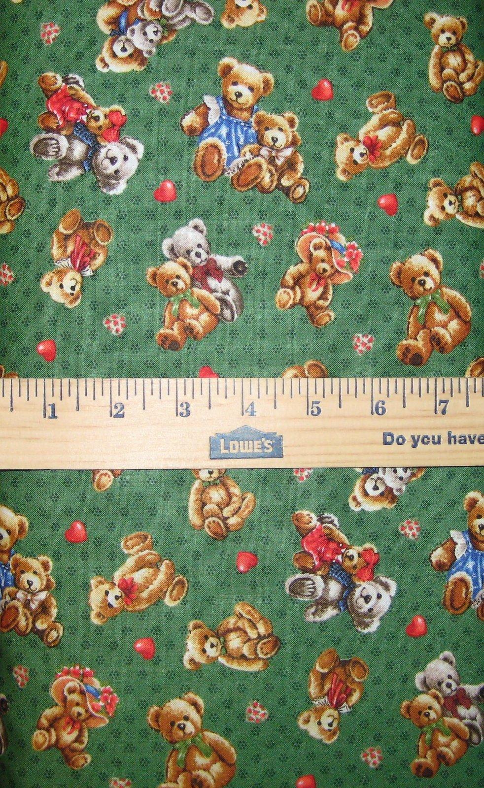 Teddy Bear Hugs 112-29422 Green