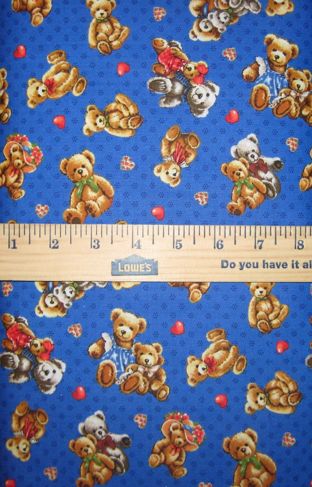 Teddy Bear Hugs 112-29421 Blue