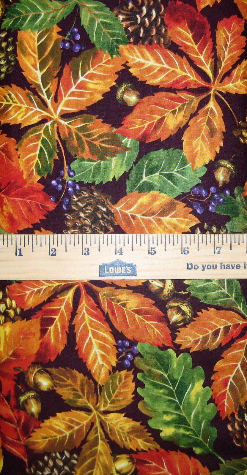 Fall Retreat Leaves 112-30241 Brown