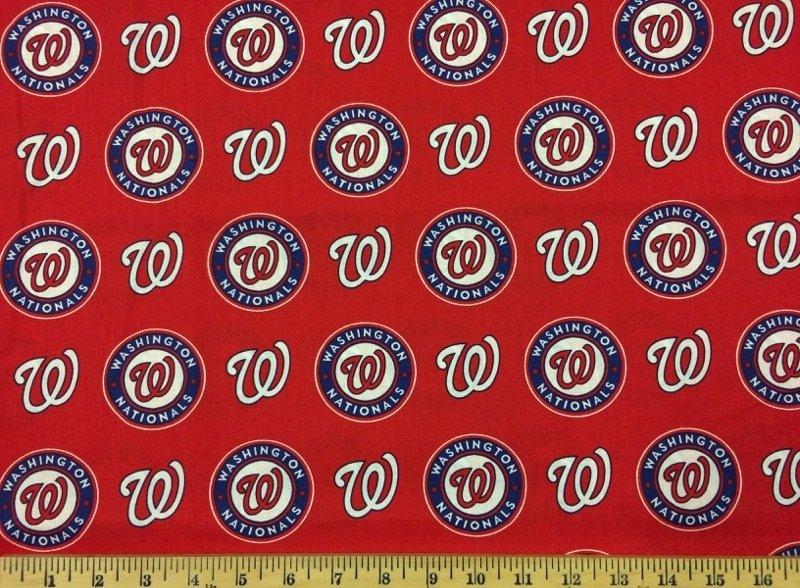 MLB Logo Washington Nationals 6658B Red