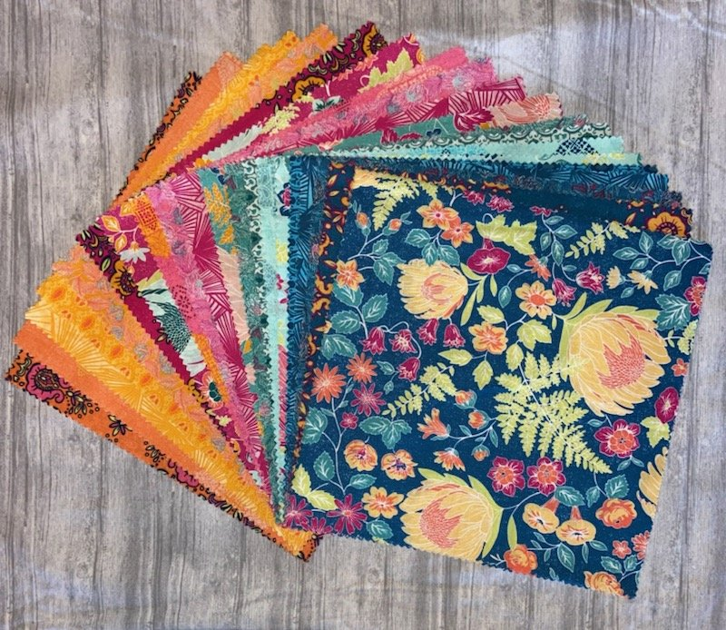 Boundless Summer Whimsey 42 Piece 10 Layer Cake