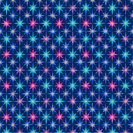 In The Beginning 27675-N Stars Navy