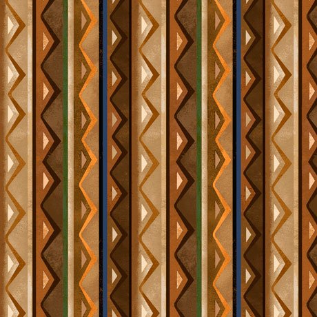 In the Wilderness 27157-A Stripe Brown