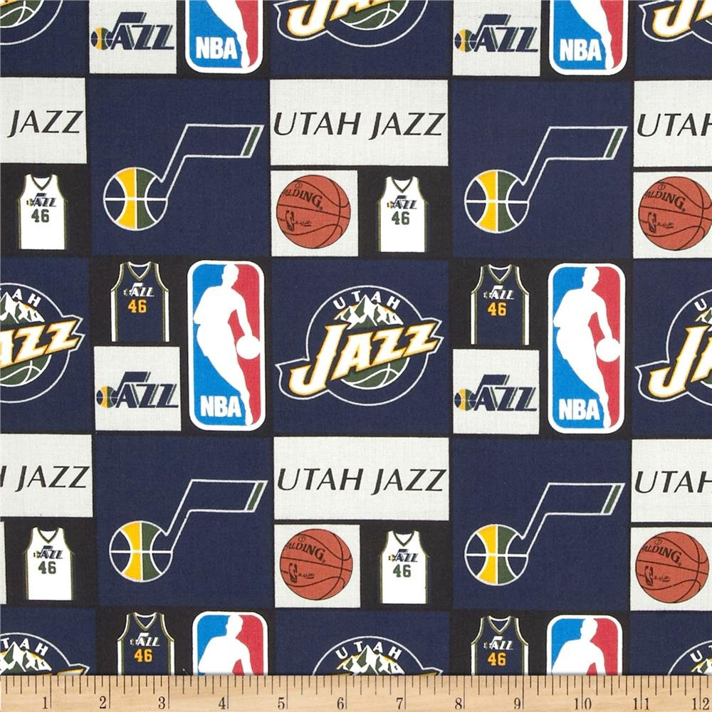 NBA Utah Jazz 083 Navy/Gold