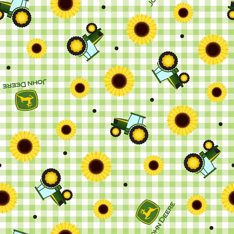 John Deere 70215 Sunflower Plaid