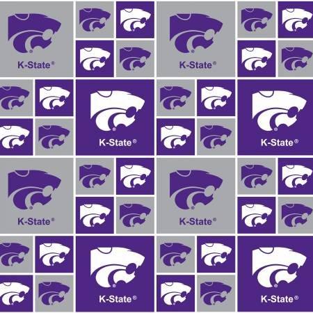NCAA Kansas State Wildcats 020 Blocks