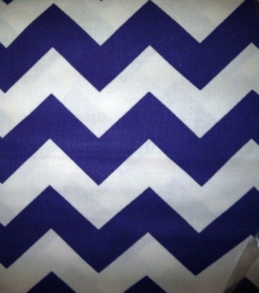 Large Chevron Purple & White 8694A