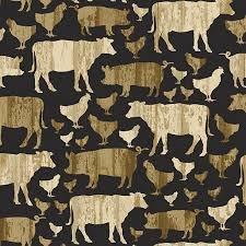 Large Farm Animals 10192 Black