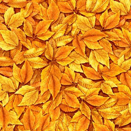 Always Face Sunshine Leaves 27848-O Orange