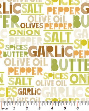 Chef Words 6416-09 White