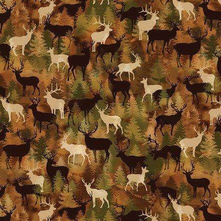 Lodge Life 8974-88 Deer Camo
