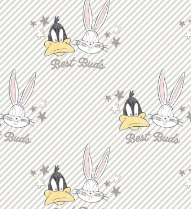 Looney Tunes 23600127 Best Buds White