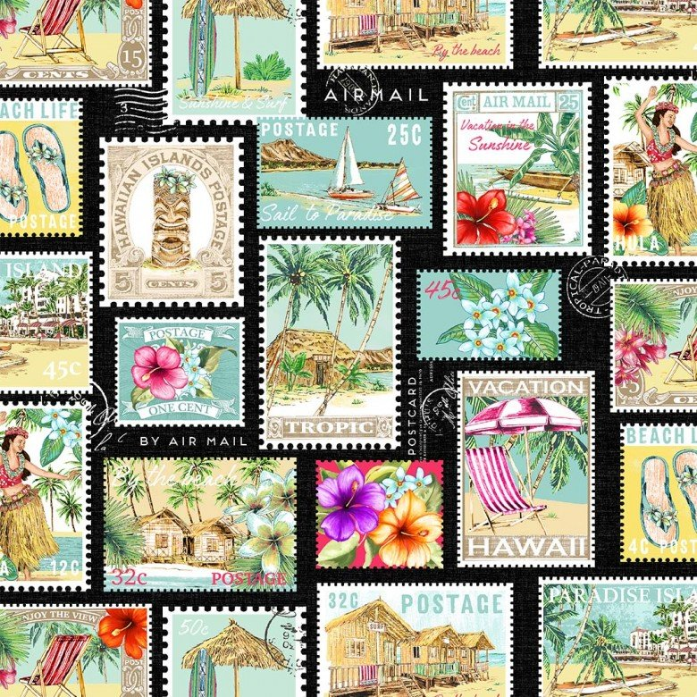 Lost in Paradise DCX 9117 Post Card