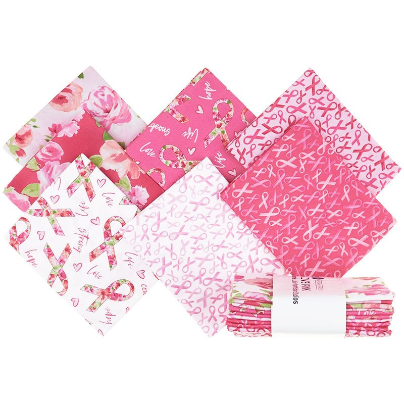 Love Pink Fat Quarter Bundle