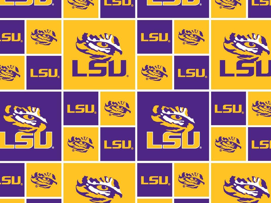 NCAA Louisiana State Tigers 020 Blocks