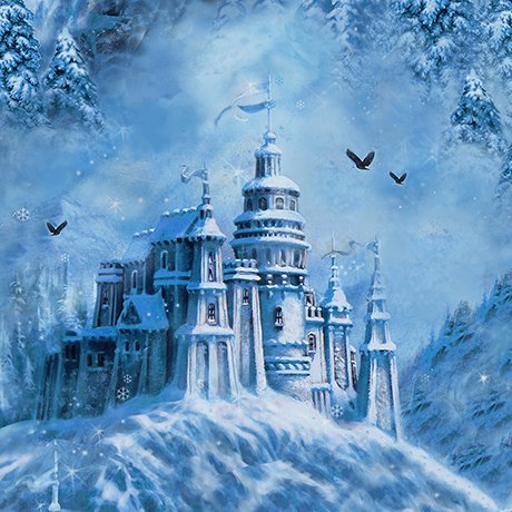 Magical Castle 26244B-DP Blue