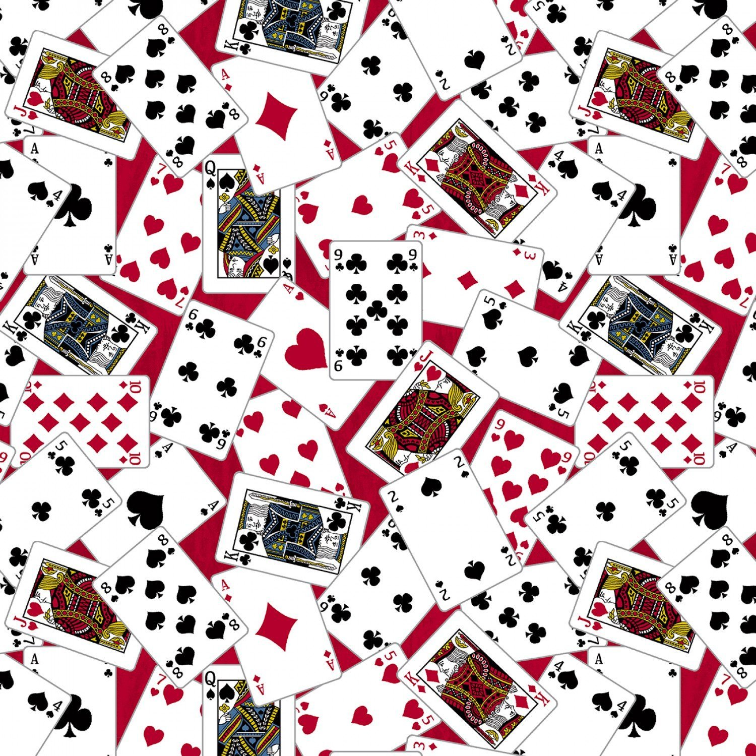 Man Cave 52411-1 Playing Cards Red