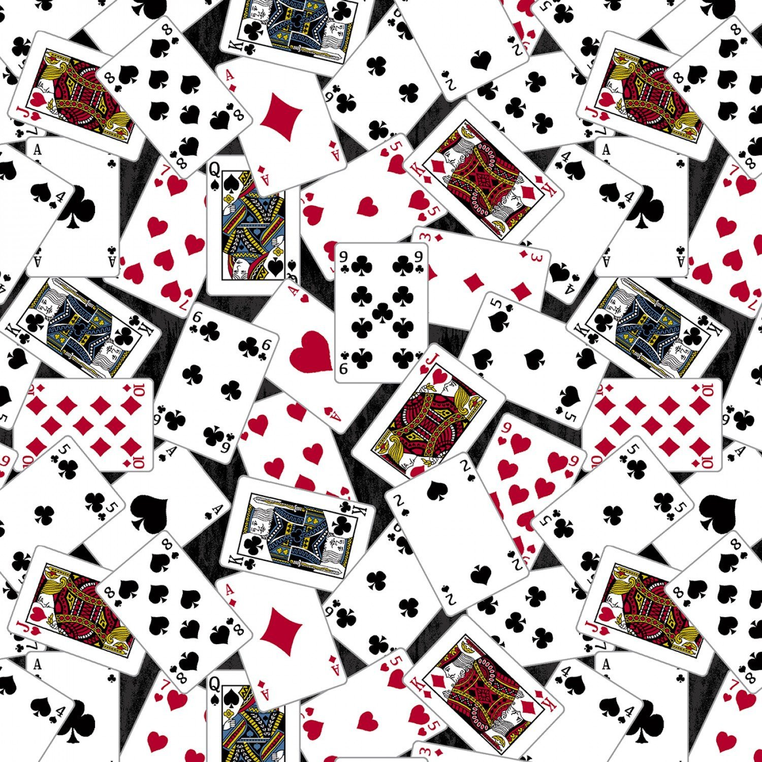 Man Cave 52411-2 Playing Cards Black