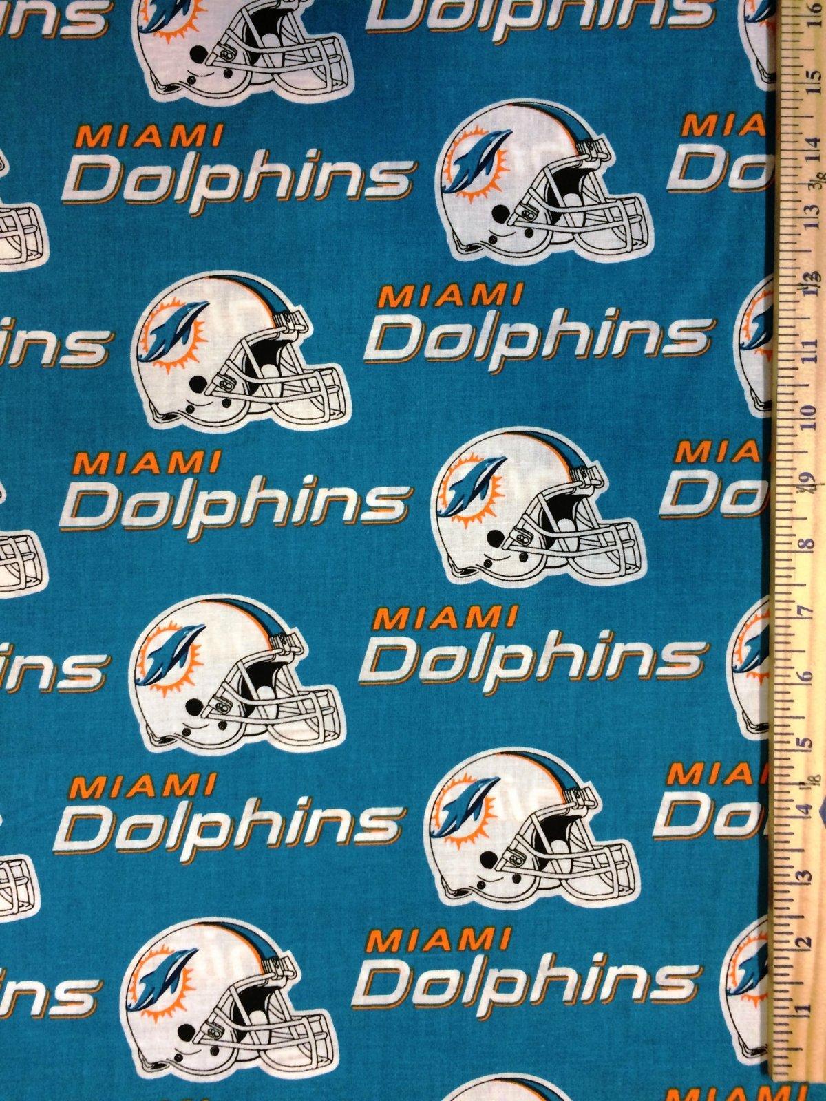 NFL Logo Miami Dolphins 6459 Aqua