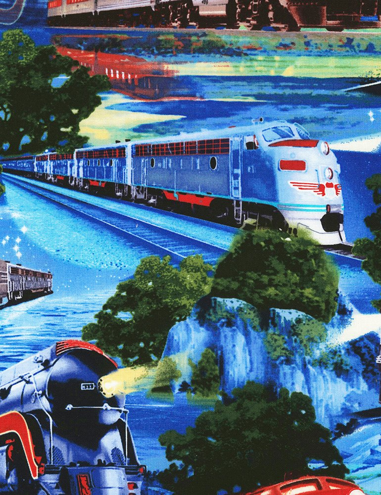 Trains C6730 Blue