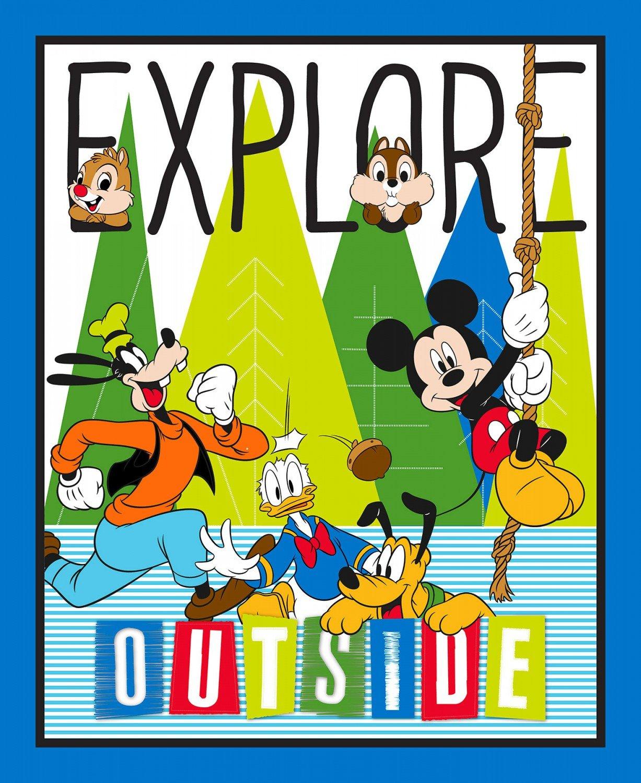 Mickey Explore Outside Panel 59659