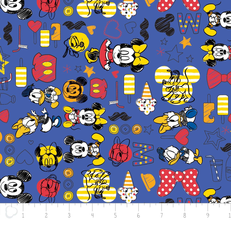 Mickey & Friends Summer Fun 85270101#3 Blue