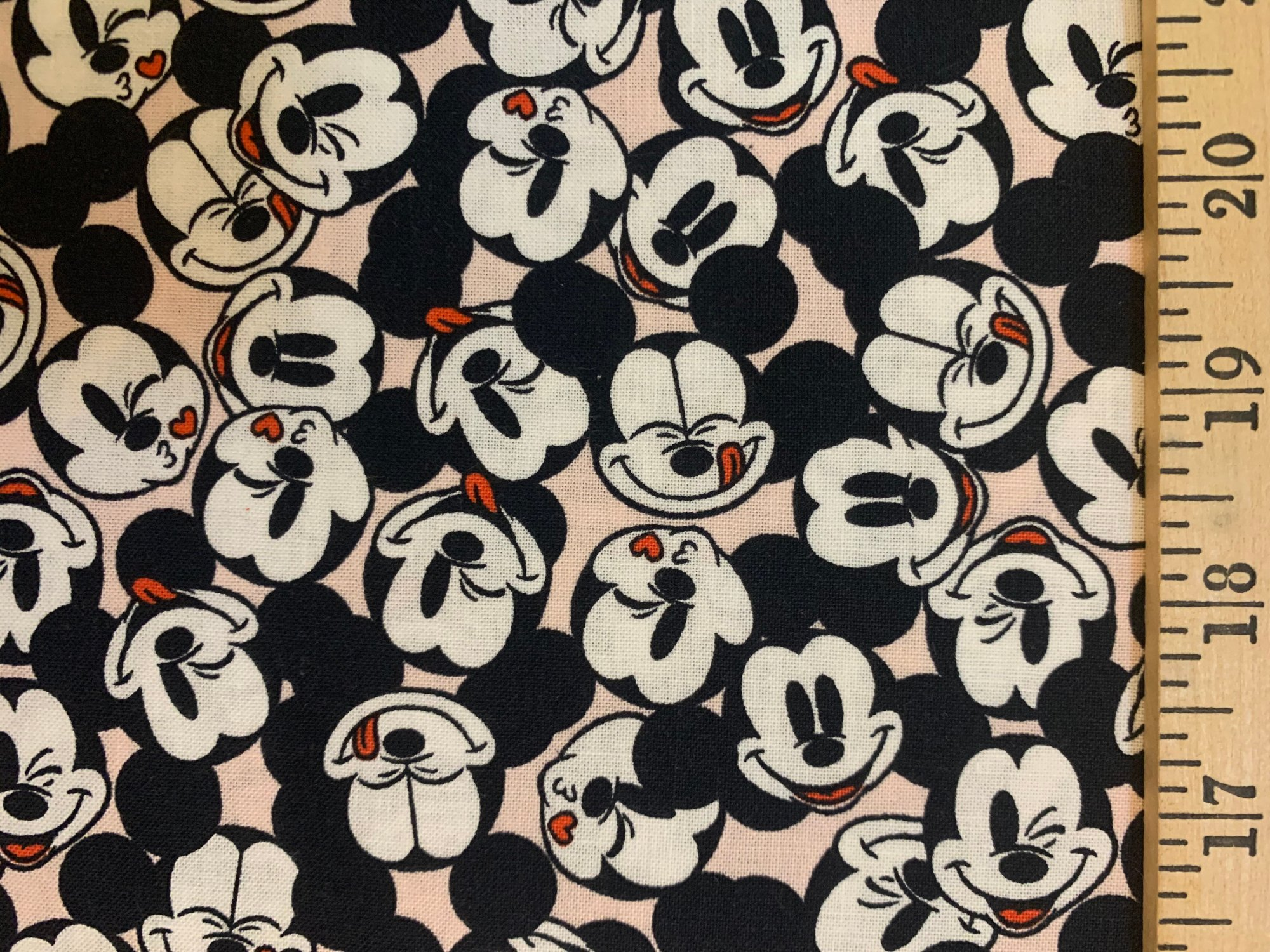 Disney Mickey 85271001-3 Stacked Pink