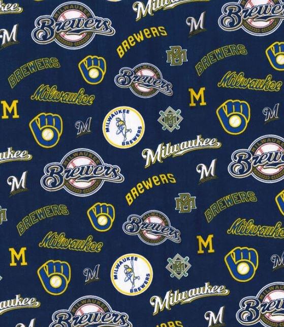 MLB Logo Milwaukee Brewers 60028 Cooperstown 45