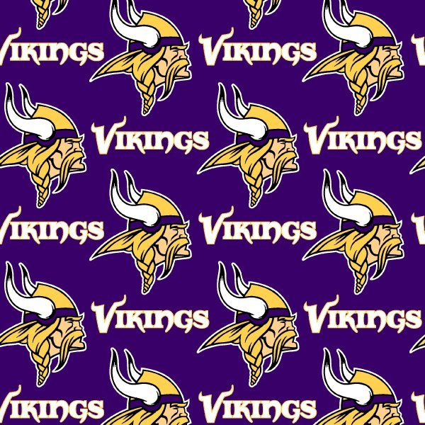 NFL Logo Minnesota Vikings 6456 Purple