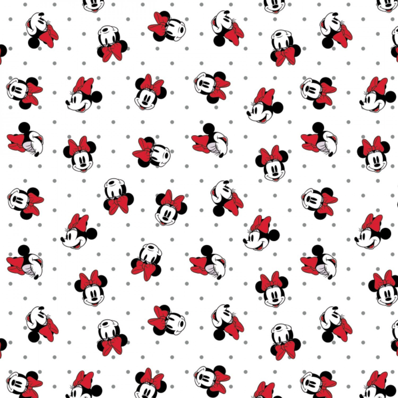 Disney Minnie Mouse 85271012-1 Grey Polka Dots