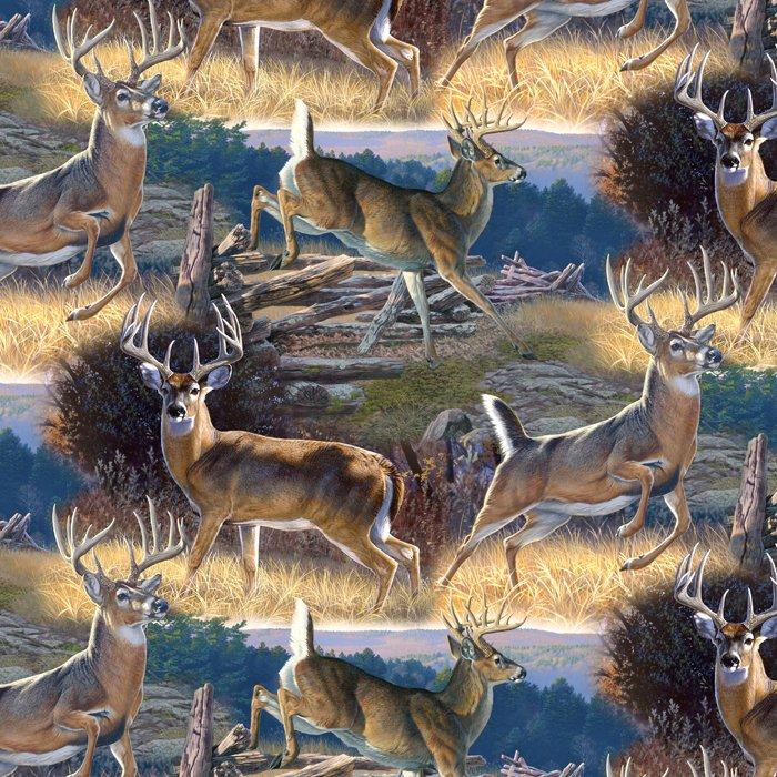 Whitetail Deer 3066 Dusk Scenic
