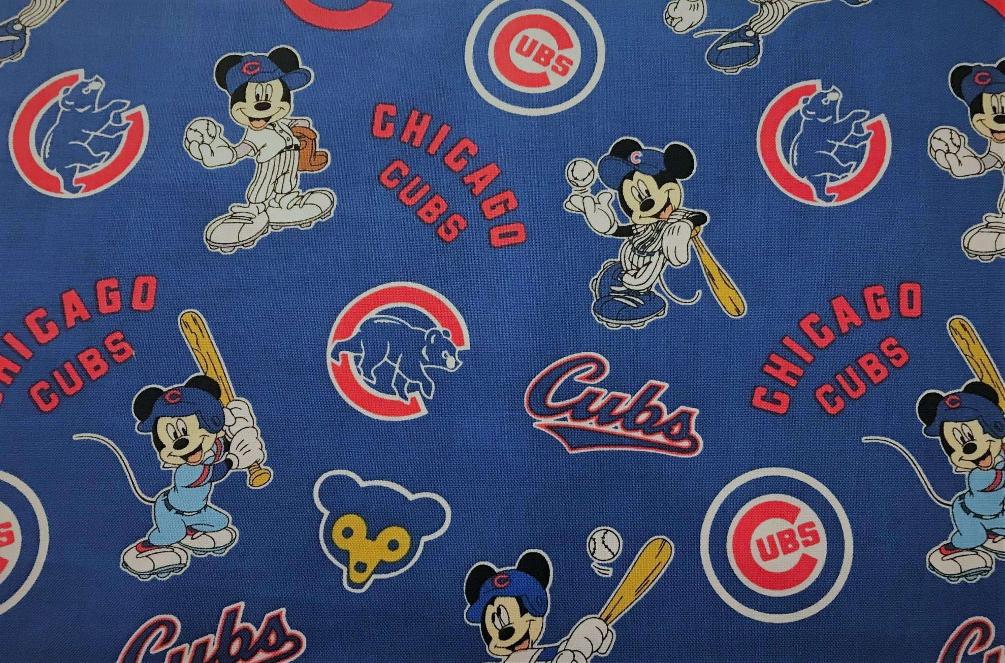 MLB Logo Chicago Cubs 60282 Mickey Mouse