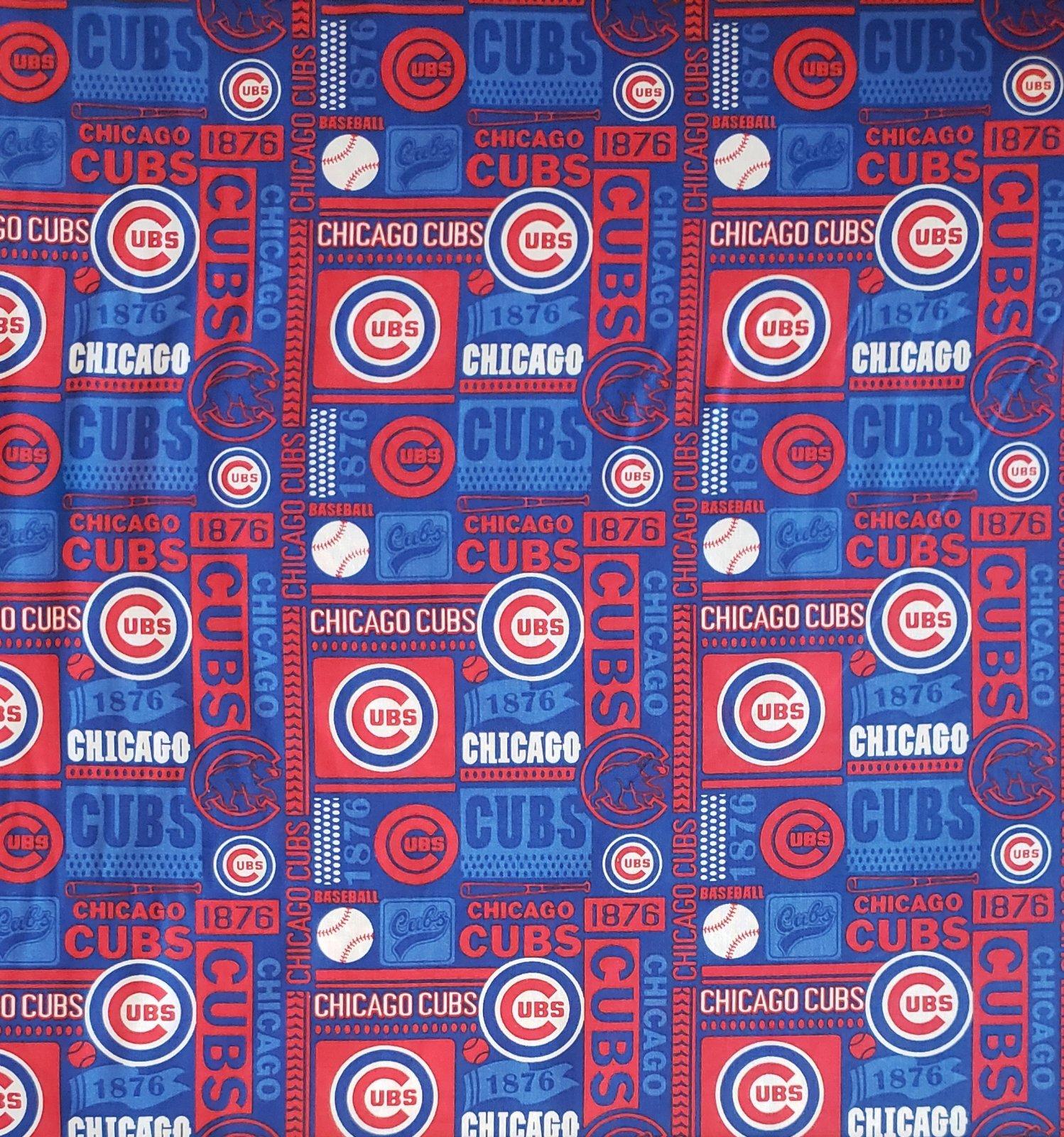 MLB Logo Chicago Cubs 60312 Block Blue 45