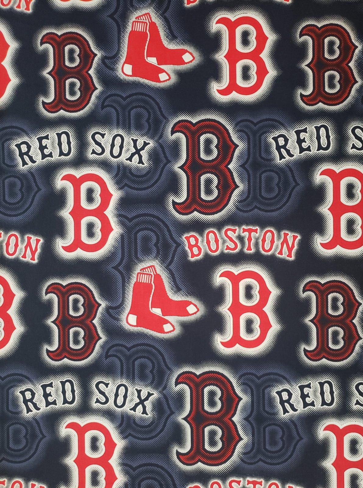 MLB Logo Boston Red Sox 60321 Large Navy 45