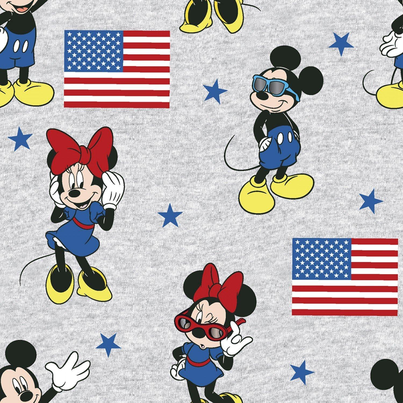 Mickey & Minnie 73984 American Flag