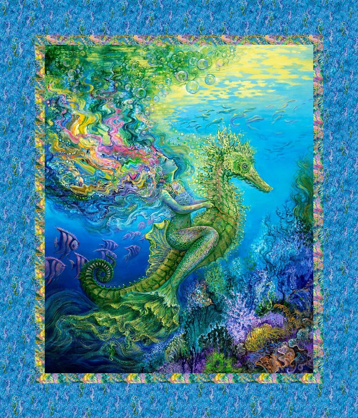 Mystic Ocean 14606 Mermaid Panel