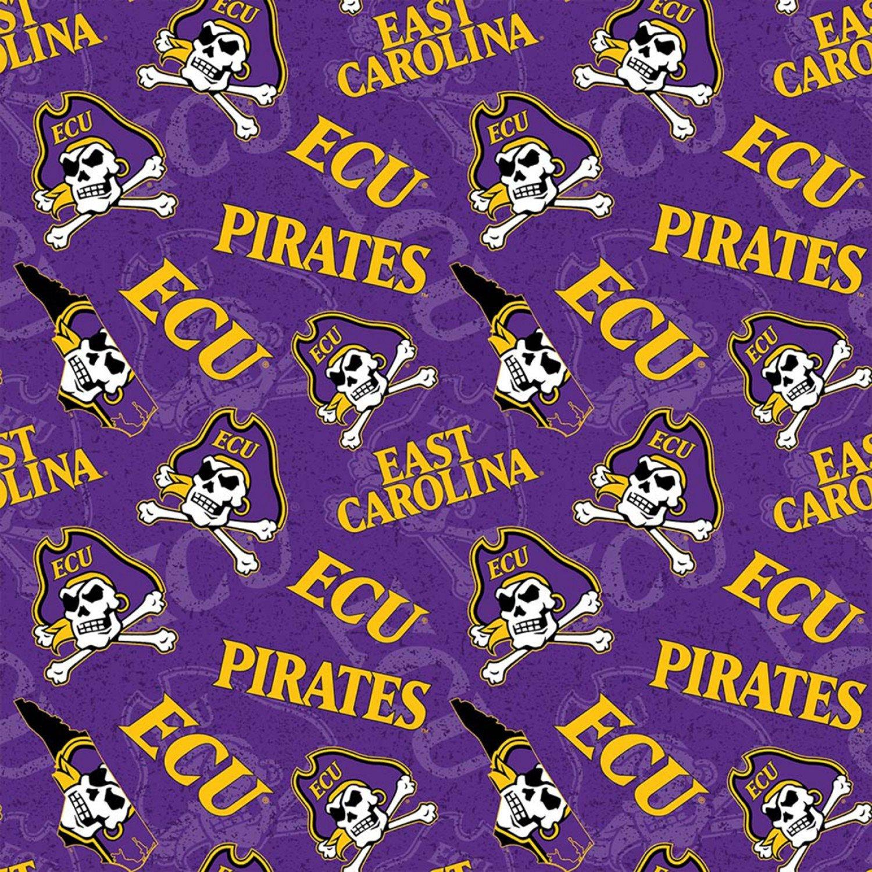 NCAA East Carolina Pirates ECU-1178 Logo Toss