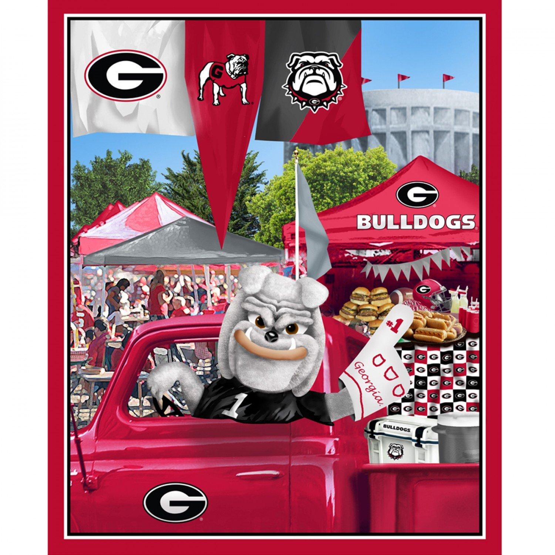 NCAA Georgia Bulldogs 1157 Panel