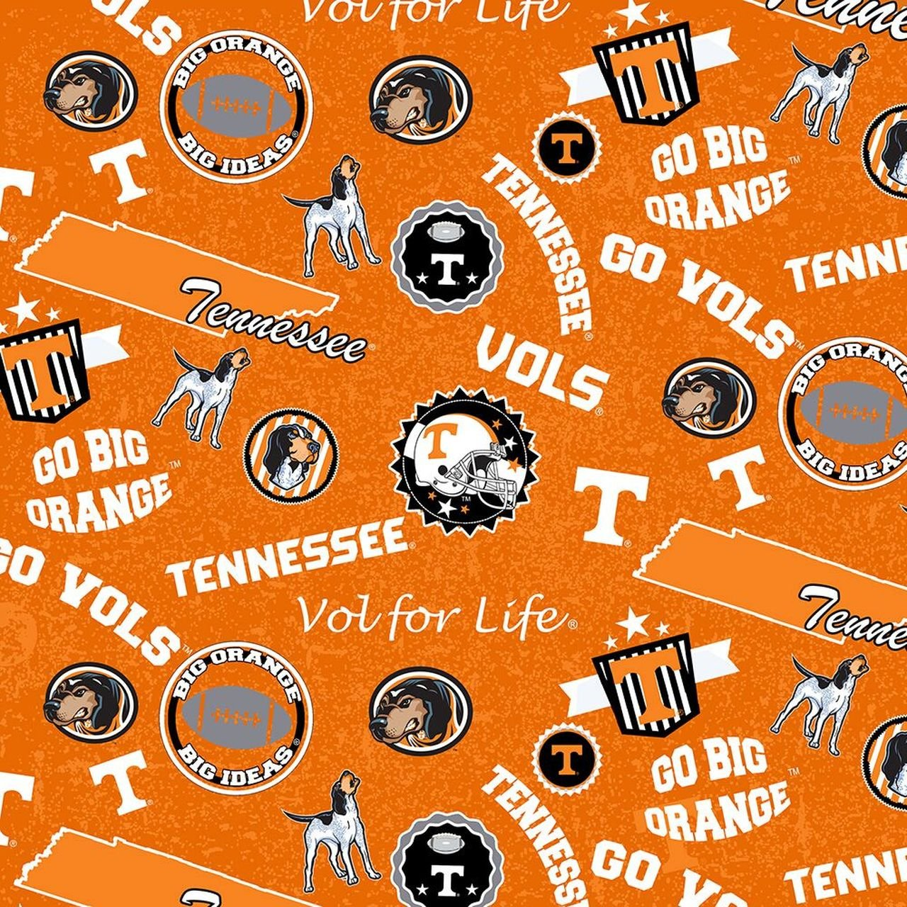 NCAA Tennessee Vols 1208 Home State