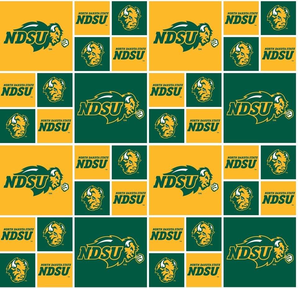 NCAA North Dakota State 020 Blocks